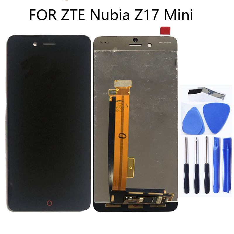 5.2 inches for ZTE Nubia Z17 mini NX569J NX569H LCD touch screen components replacement 100% tested+free tools-in Mobile Phone LCD Screens from Cellphones & Telecommunications