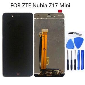 Image 1 - Für ZTE Nubia Z17 mini NX569J NX569H LCD Display Touch screen Montage Zubehör Für ZTE Nubia Z17 Mini Telefon Teile reparatur kit