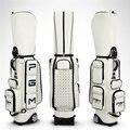 Pgm женская сумка для гольфа из искусственной кожи  водонепроницаемая сумка для гольфа  большая емкость  дорожные сумки для гольфа  профессио...