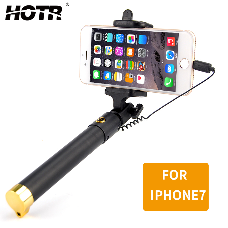 c9f5febf9dabef for iphone XS MAX XR X Selfie Stick Wired Para Selfie Stick for ...