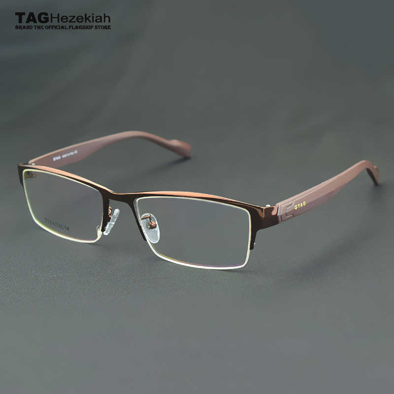 f5f2c39037a eyeglasses frames men Brand Retro TR90 Business glasses frame TAG Myopic  computer optics oculos de grau