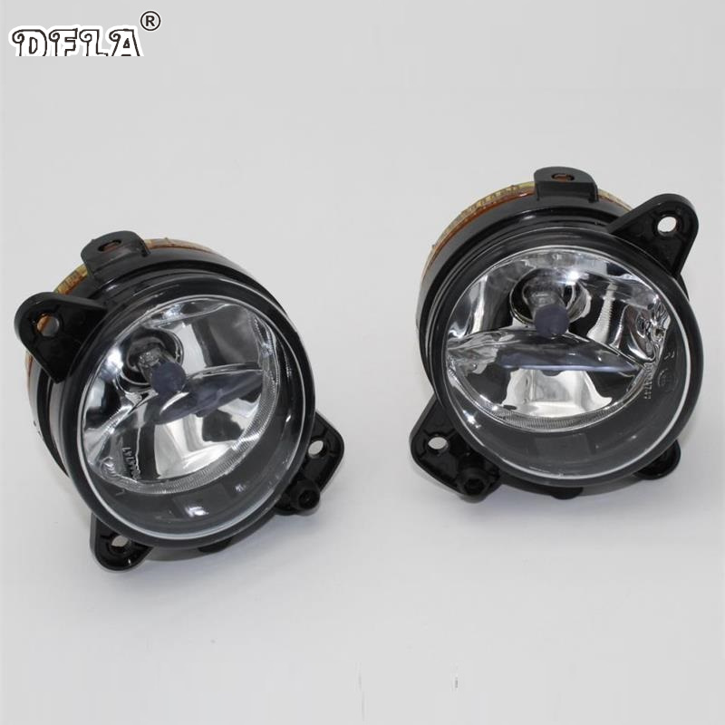 DFLA Car Light For Skoda Fabia MK1 Facelift 2005 2006 2007 2008 Car-Styling New Front Bumper Halogen Fog Lamp Fog Light dfla car light for vw passat b6 car styling 2006 2007 2008 2009 2010 2011 new front halogen fog light fog lamp