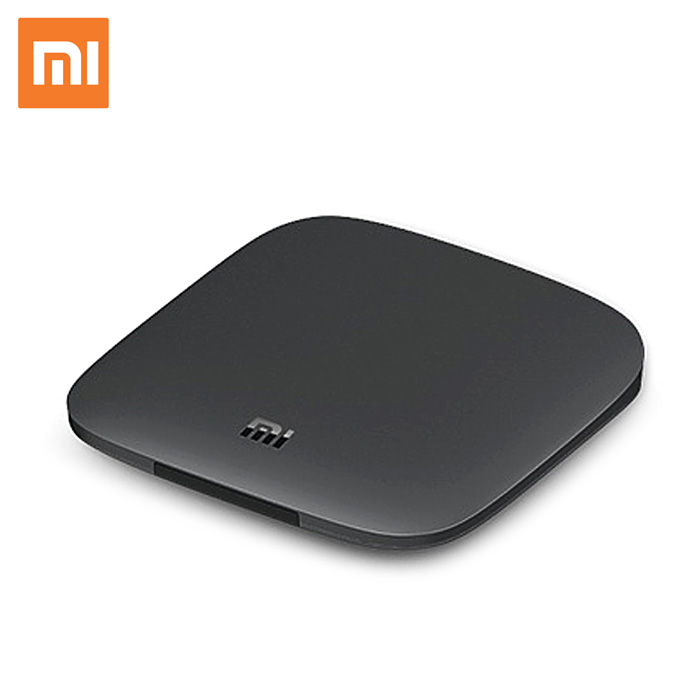 Original Xiaomi Mi 3C TV Box 4K 64bit Android 5.0 Media Player Quad Core Amlogic S905 Dolby DTS HDMI Chinese Version official international version original xiaomi mi tv box