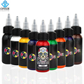 OPHIR 9 Colors 30ml/bottle Professional Tattoo Ink Pigment High Quality Body Tattoo Art Colors Body Art Tattoo Supply _TA058