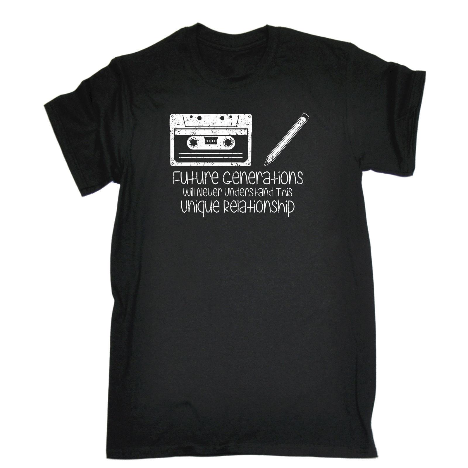 FUTURE GENERATIONS WILL NEVER UNDERSTAND T Shirt Tee Vinyl Funny