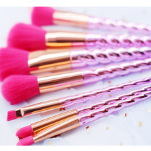 Lovely Unicorn Pink Hair Makeup Set Foundation