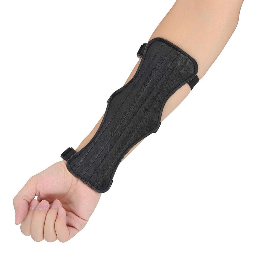 Shooting  Bandage  Arm Protection  Forearm Guard  Archery Arm Guard Leather