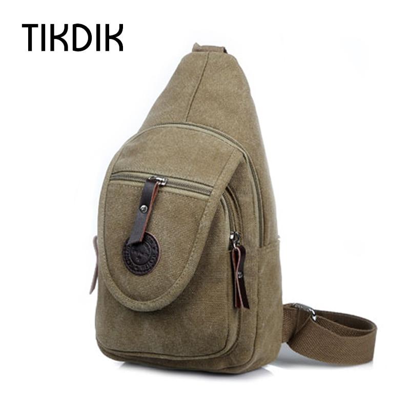 Nova torba za remen Platno grudi za muškarce Muške vrećice za - Torbe - Foto 6