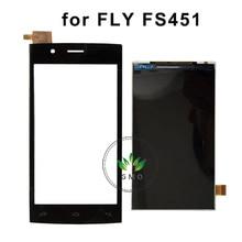 Para Fly FS451 FS401 FS403 FS452 FS501 FS502 Pantalla LCD Con Pantalla Táctil Digitalizador de reemplazo