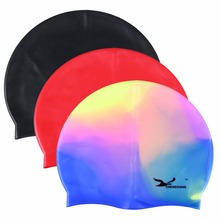 Flexible Silicone Swimming Cap Stretch Waterproof Unisex Men/Women Durable