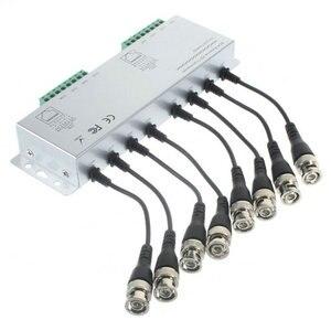 Image 1 - 8CH HD CVI/TVI/AHD pasywny Transceiver 8 kanałów wideo balun Adapter nadajnik BNC do UTP Cat5/5e/6 kabel 720P 1080P