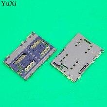 Connector Lenovo Slot-Tray-Holder Socket-Plug Sim-Card-Reader Yuxi for A6800 E71-T Hisense