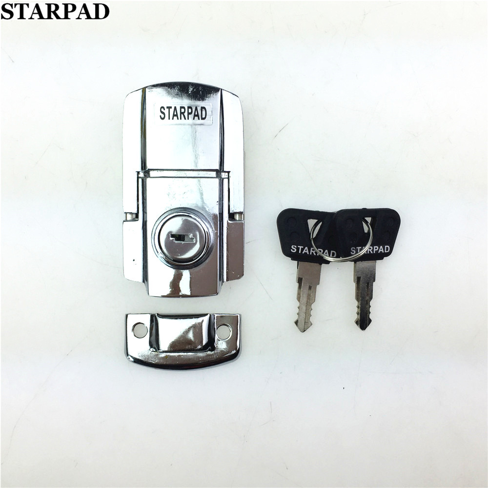 STARPAD For Motorcycle Trunk Lock Silver Locks / Good Quality / Electric Car