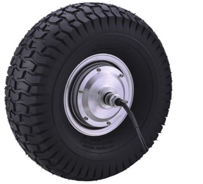 15 inch 800W36v electric wheel hub motor scooter brushelss high torque moto