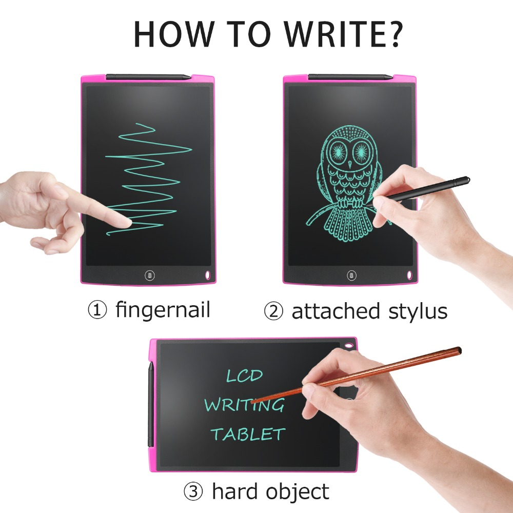 Tableta de escritura LCD NeWYeS 12 pulgadas 6