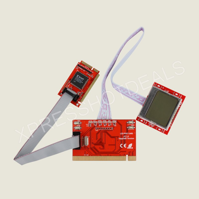 Computer Post: PCI Motherboard Analyzer Diagnostic Post Tester Card For
