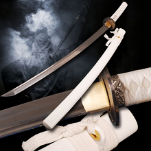 Folded Steel  Blade Japanese Katana Sword Hand-forging Full Tang Samurai Sword Decorative Collectibles Sharp Knife
