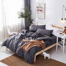 цена на Classic Unicorn bedding set grey blue flower bed linen 4pcs/set duvet cover set Pastoral bed sheet duvet cover bedding set 4pcs