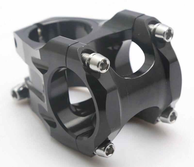 moutain bike Black 0degree 31 8mm Clamp Diameter 35 45 55mm Stem