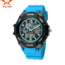 VILAM Nueva Moda Para Hombre de Cuarzo Reloj Relojes Deportivos Hombres Hombres de Cuarzo Reloj de Pulsera de Deporte Al Aire Libre Escalada Senderismo Para hombres 11