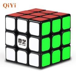 Qiyi волшебный куб кубики Professional 3x3x3 Cubo стикеры скорость Твист головоломки Развивающие игрушки для детей подарок Rubiking Cube