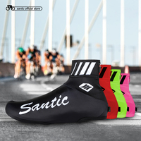 Santic Men Cycling Windproof Shoes Covers Practical Bike Bicycle Shoes Cover Road MTB Shoes Protector Overshoes