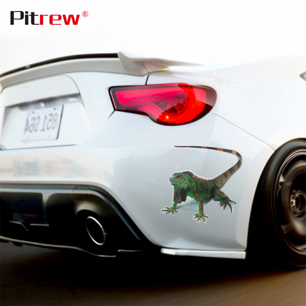 2018 New Style High Quality 3D Spider Cat Lizard Scorpion Car Stickers Animals Car Styling Motorcycle Exterior Accessories