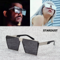 2016 New Cool Fashion Square Metal Frame STARDUST Sunglasses Men Cool Style Brand Design Sun Glasses Oculos De Sol Lunettes