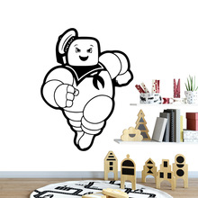 Cute people Nursery Wall Stickers Vinyl Art Decals For Kids Room Living Room Home Decor Pvc Wall Decals adesivo de parede 3d plane family wall stickers mural art home decor vinyl stickers wall decals kids room decor living room adesivo de parede