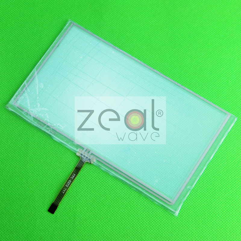 5 Pcs/lot 6.2 Inch 4 Wire Resistive 155*90mm Touch Screen Panel Digitizer for Car DVD Player /GPS Replacement