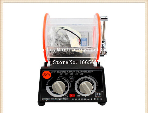 KT-6808-130 piccolo tamburo/drum/roll macchina di lucidatura macchina di lucidatura dei monili lucidatrice rotativaKT-6808-130 piccolo tamburo/drum/roll macchina di lucidatura macchina di lucidatura dei monili lucidatrice rotativa