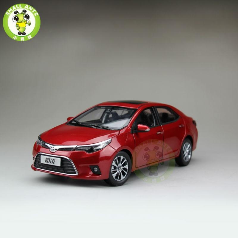 1:18 levin corolla 2014 다이 캐스트 자동차 모델 붉은 색-에서다이캐스트 & 장난감 차부터 완구 & 취미 의  그룹 1