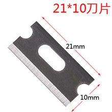 Cuchillas Pelacables de 21x10mm, cuchillas de corte de Cable, Cuchillas de acero de alta velocidad para herramientas de pelado y corte