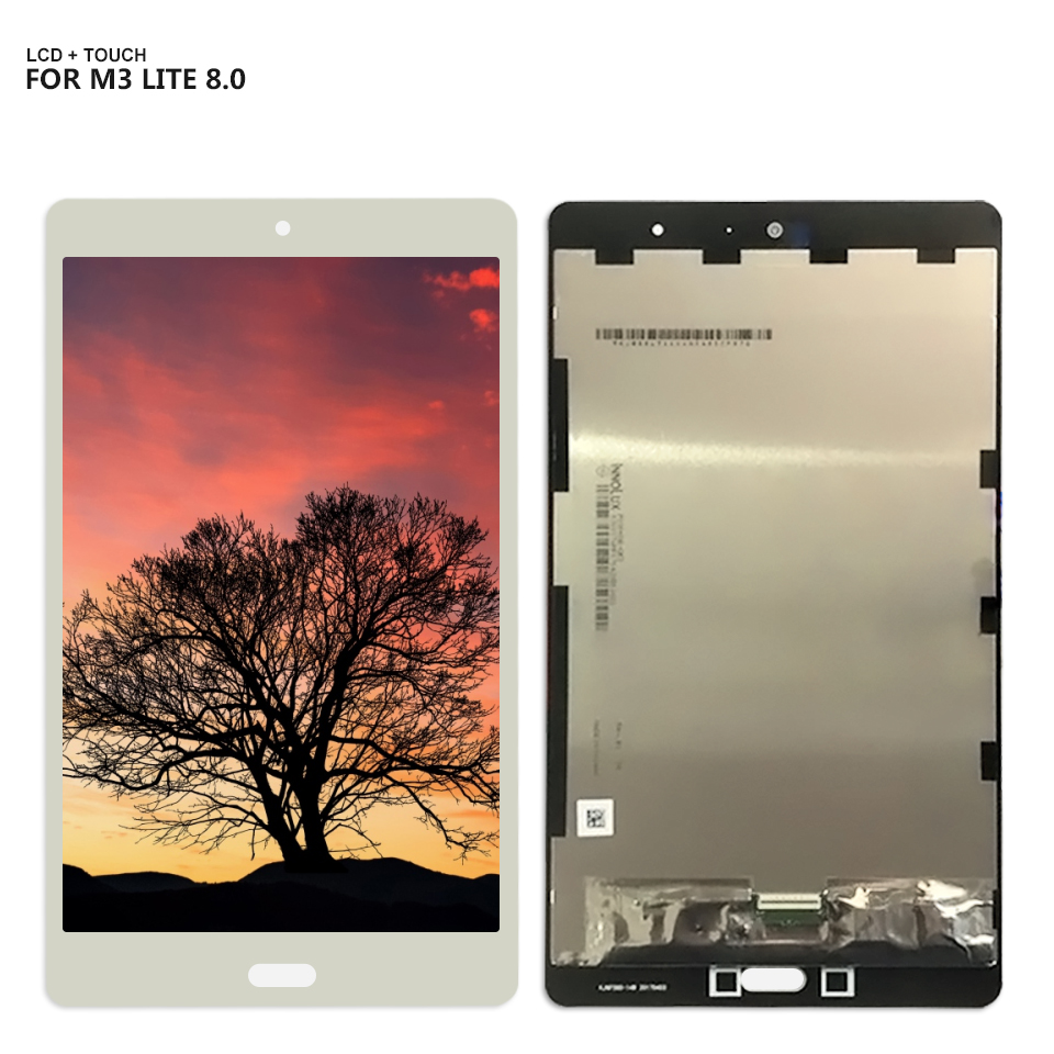 """8/"""" For Huawei MediaPad M3 Lite 8.0 CPN-W09 CPN-L09 Glass LCD Touch Digitizer New"""