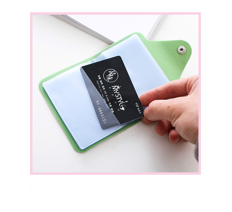 HTB1aMl2dYZnBKNjSZFKq6AGOVXaM - Women Leather Card Case Credit Card Holder Student Cute Cartoon ID Cards Wallet Passport Business Card Holder Book Protector