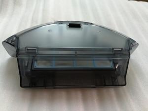 Image 2 - Boîte à poussière avec filtre HEPA primaire, pour ILIFE x620 x623 ilife A6, pièces détachées pour robot aspirateur, boîte à poussière avec filtres