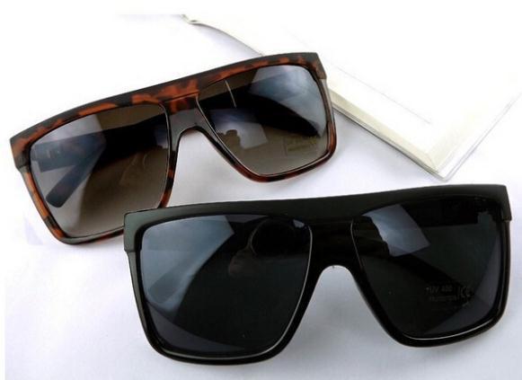 2014 Mode Vintage Quadratischen Rahmen Flat Top Big Box Sonnenbrille Frauen Männer Unisex Sonnenbrille Oculos De Sol Gl-5217 Niedriger Preis