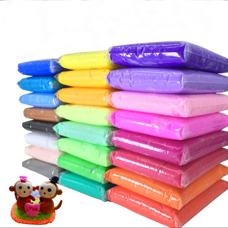 Soft-Polymer-Modelling Clay Tools Special-Toys Playdough. 24colors NEW with Good-Package