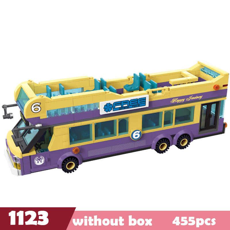 مدينة Legoes هادم الشرطة الصرف الصحي الجليد كريم سيارة شاحنة اللبنات الطوب لعب الاطفال أعجوبة مدينة الأصدقاء هدايا عيد الميلاد