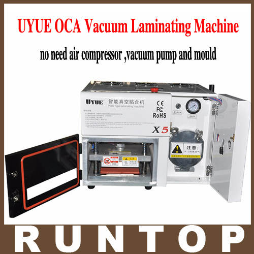 NEW UYUE 5 in 1 X5 OCA Vacuum Laminating Machine Vacuum Laminator no need air compressor ,vacuum pump and mould no bubble  цены