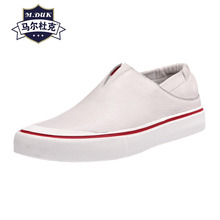 Spring Summer Genuine Leather white  loafer shoes mens Korean all-match cowhide breathable sneaker men casual shoes Leisure male korean casual shoes mens genuine leather breathable sneaker fashion boots men leisure shoes all match cowhide mens loafers