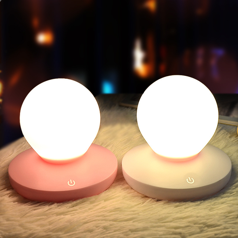 FENGLAIYI Creative USB Charging Ball Round Night Light Home Decoration Table Lamp LED Night Lamp for Child Bedside Ambient Light цена и фото