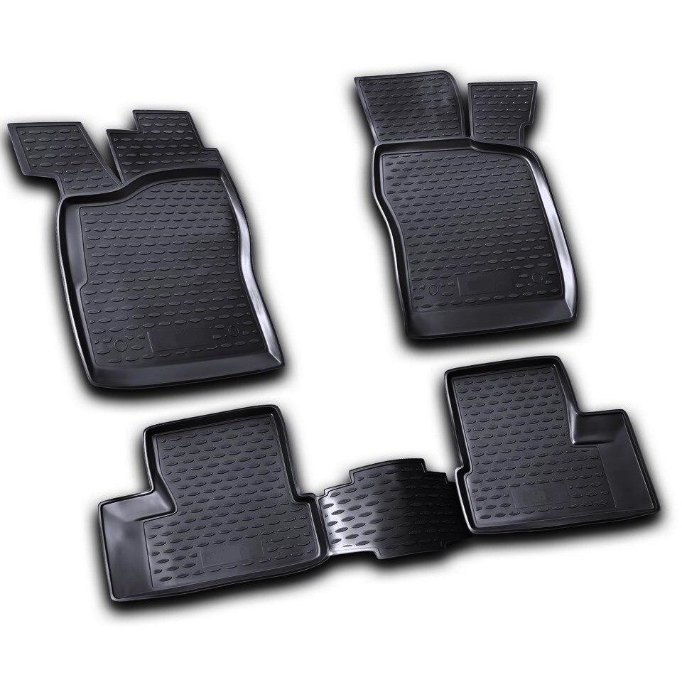 Floor mats for Daewoo Nexia 1995-2007 Element NLC1105210K car trunk mat for daewoo nexia 1995 2016 element nlc1105b10