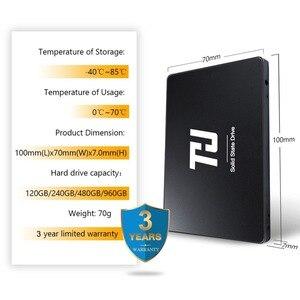 Image 5 - THU disque dur interne SSD, 120 pouces, 7mm, avec capacité de 240 go, 480 go, 2.5 go, 1 to, 540 mo/s, pour ordinateur portable, notebook