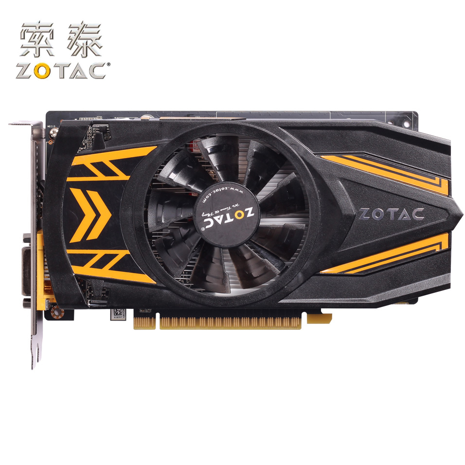Original ZOTAC GeForce GTX 650Ti-1GD5 Graphics Card Thunder PC For NVIDIA GTX600 GTX650Ti Video Cards 128bit Used GTX-650 Ti цена