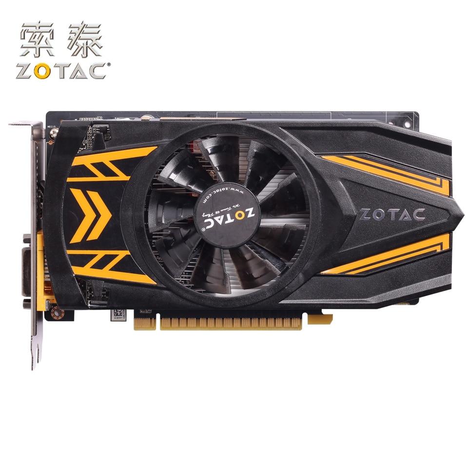 Original ZOTAC GeForce GTX 650Ti-1GD5 Graphics Card Thunder PC For NVIDIA GTX600 GTX650Ti Video Cards 128bit Used GTX-650 Ti