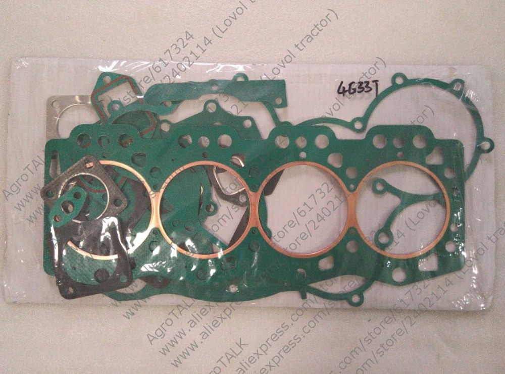 Changchai 4G33T parts, set of gaskets including the head gasket, Part number: changchai zn485t for tractor use the set of gaskets including the head gasket as showed