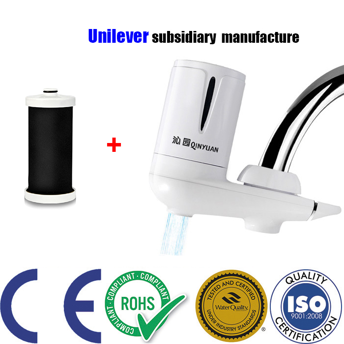 Wholesale Water Filter household kitchen healthy coconut Activated Carbon Faucet Tap Filter carbonated water purifer treatment new faucet water filter purifier household kitchen healthy activated carbon carbonated filtros machine