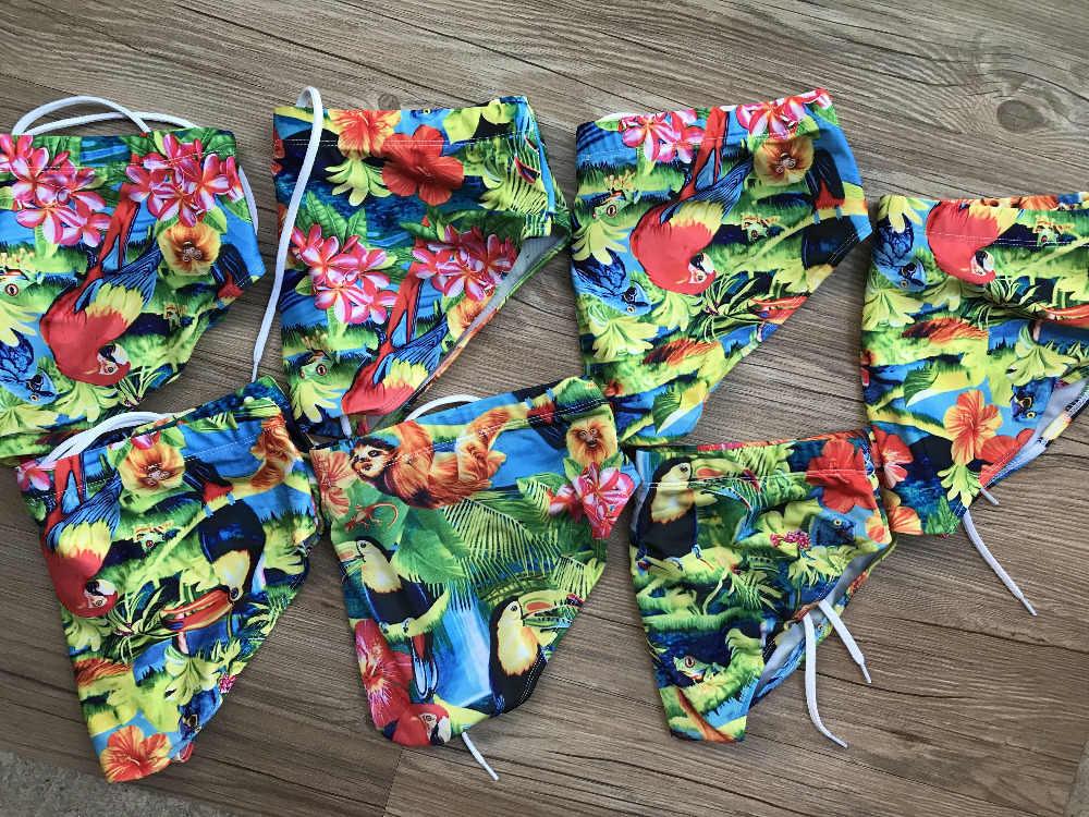 Troncos de Natação dos homens Venda Quente Boxers Natação Shorts Da Praia Hi-Q Swimwear Troncos Sexy Masculino Terno Dos Esportes de Marca homens Maiô