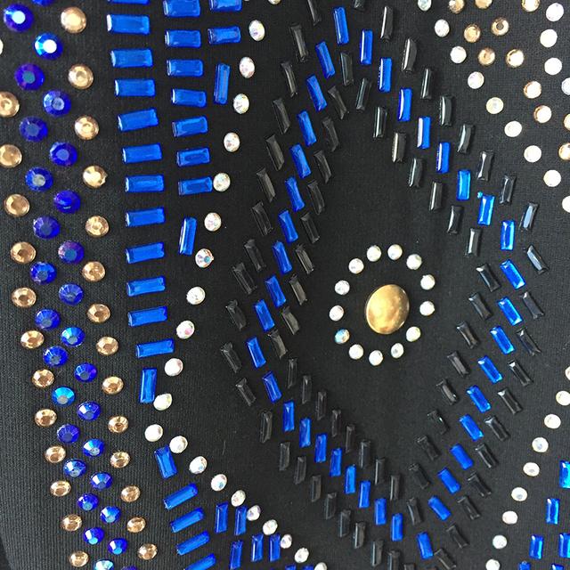 HIGH QUALITY Newest 2017 BARACCO Designer Blazer Women's Long Sleeve Multi Colors Rhinestone Diamonds Beading Blazer Jacket